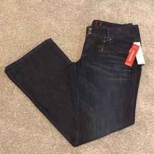 Elle Bootcut Low Rise Hurricane Bootcut Jeans 14